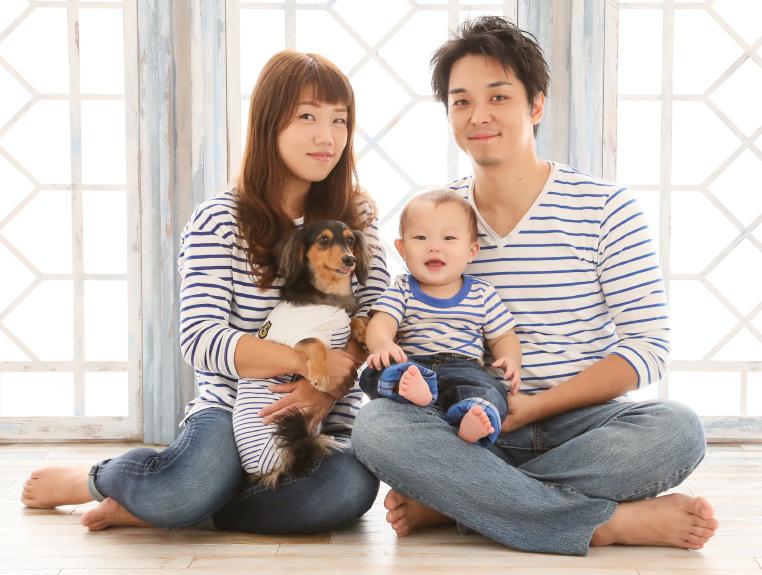 家族で記念撮影キャンペーン